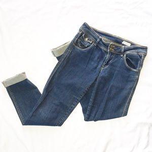 H&M SQIN Straight Leg Skinny Jean Size 29x34
